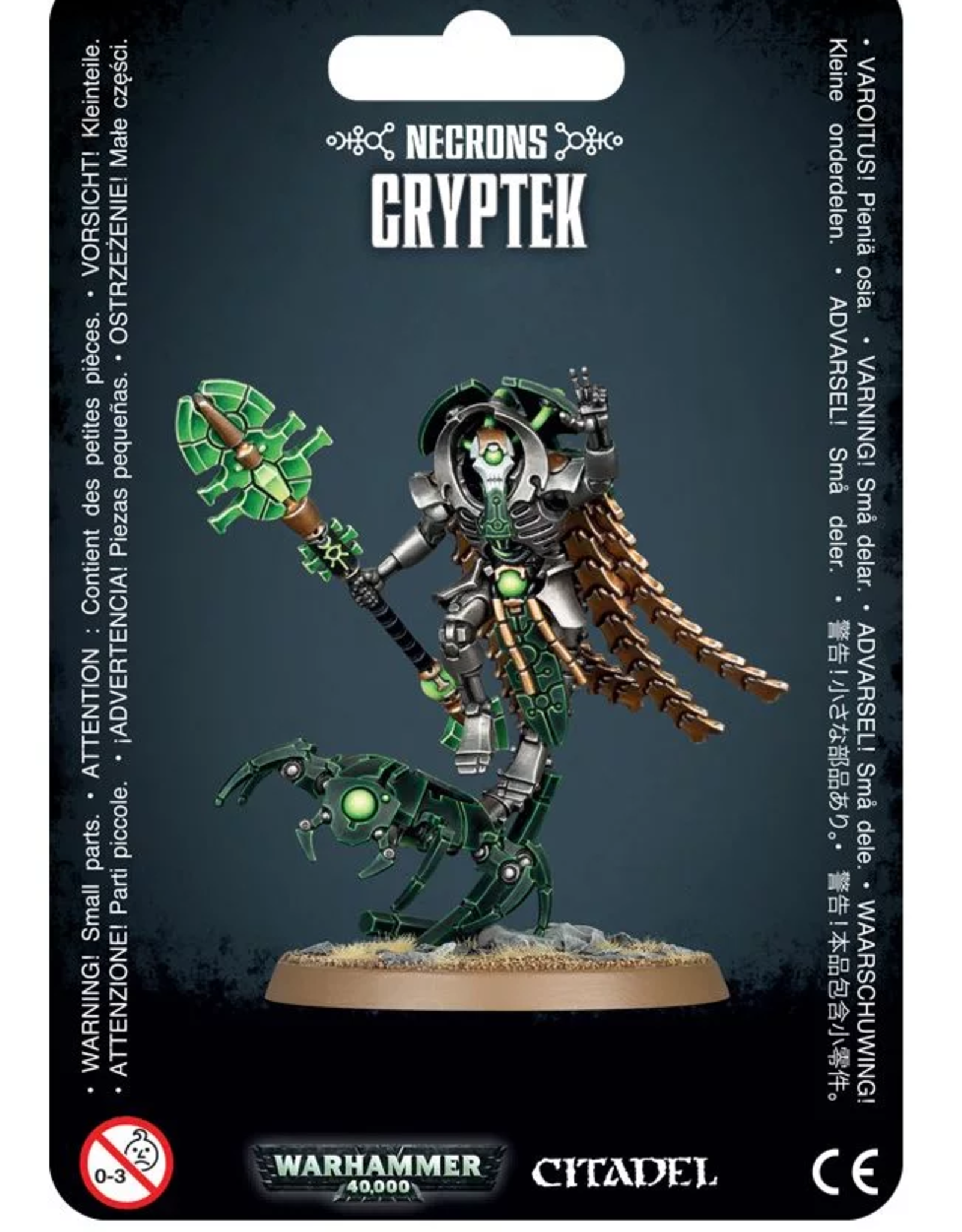 Games Workshop Necron: Cryptek with Cloak