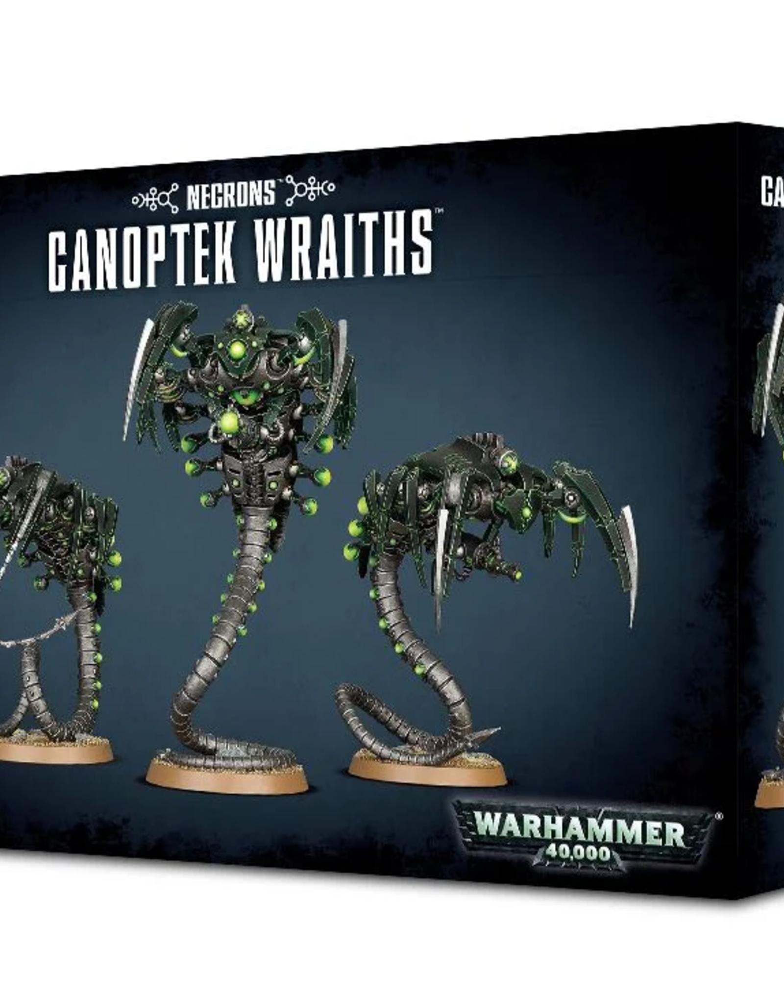 Games Workshop Necron: Canoptek Wraiths