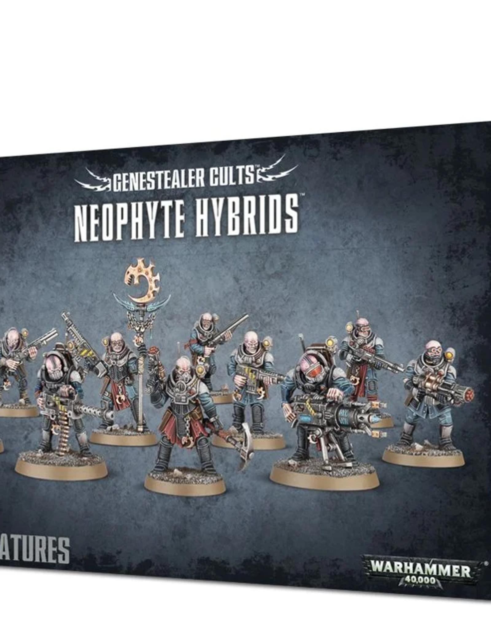 Games Workshop Genestealer Cult: Neophyte Hybrids