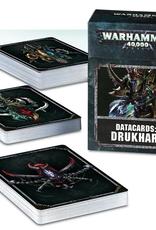 Games Workshop Datacards: Drukhari 8E