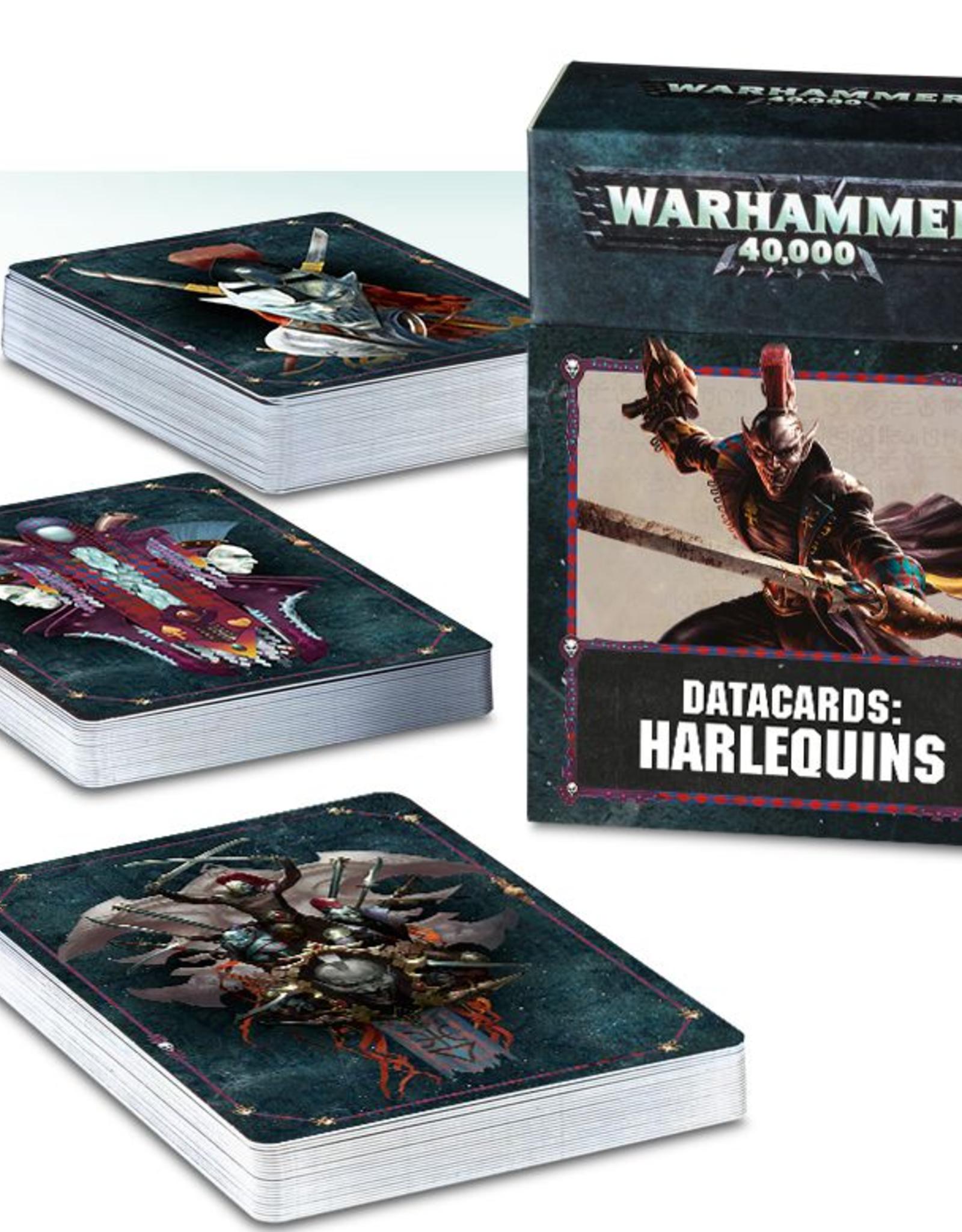 Games Workshop Datacards: Harlequins 8E