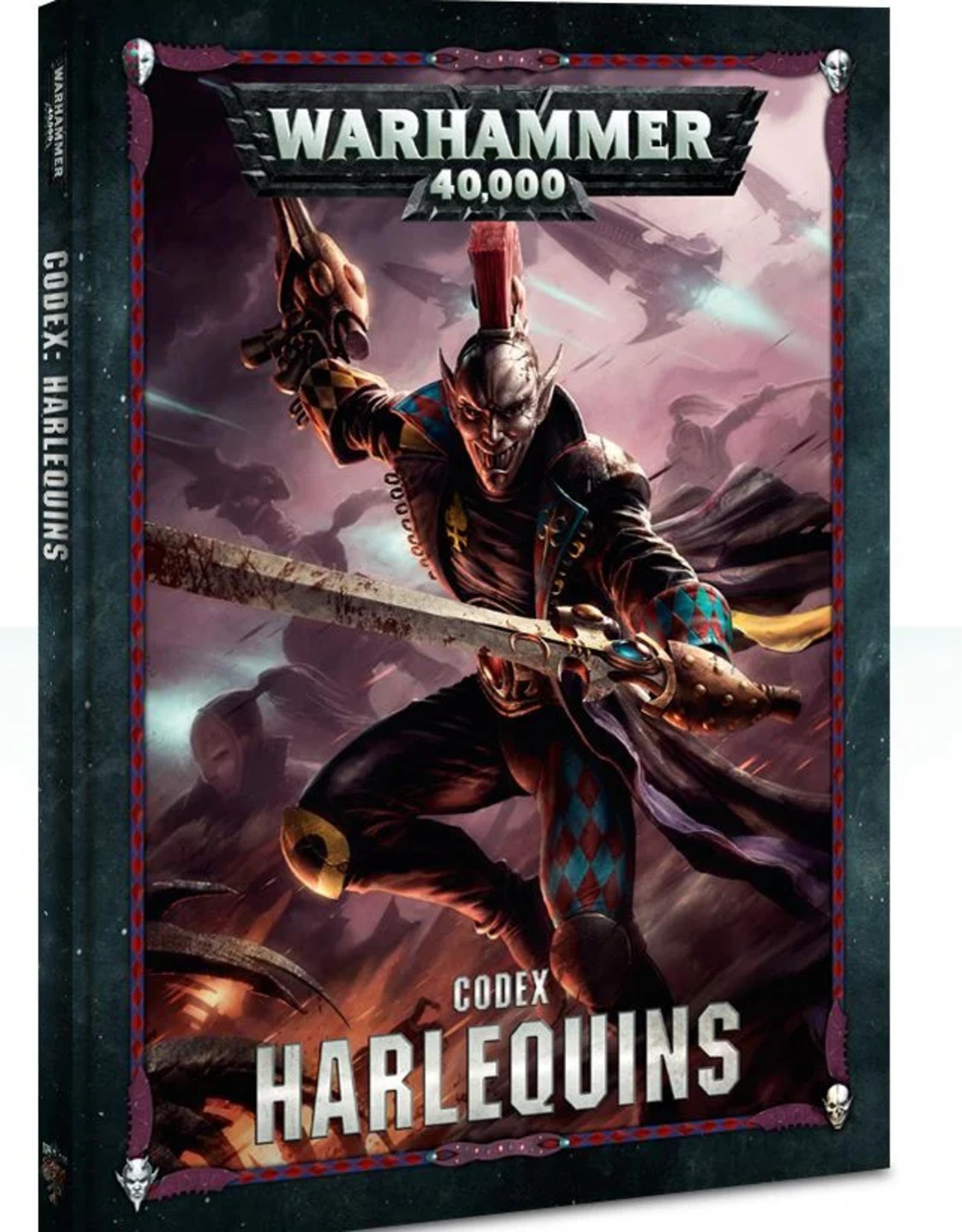 Games Workshop Codex: Harlequins 8E