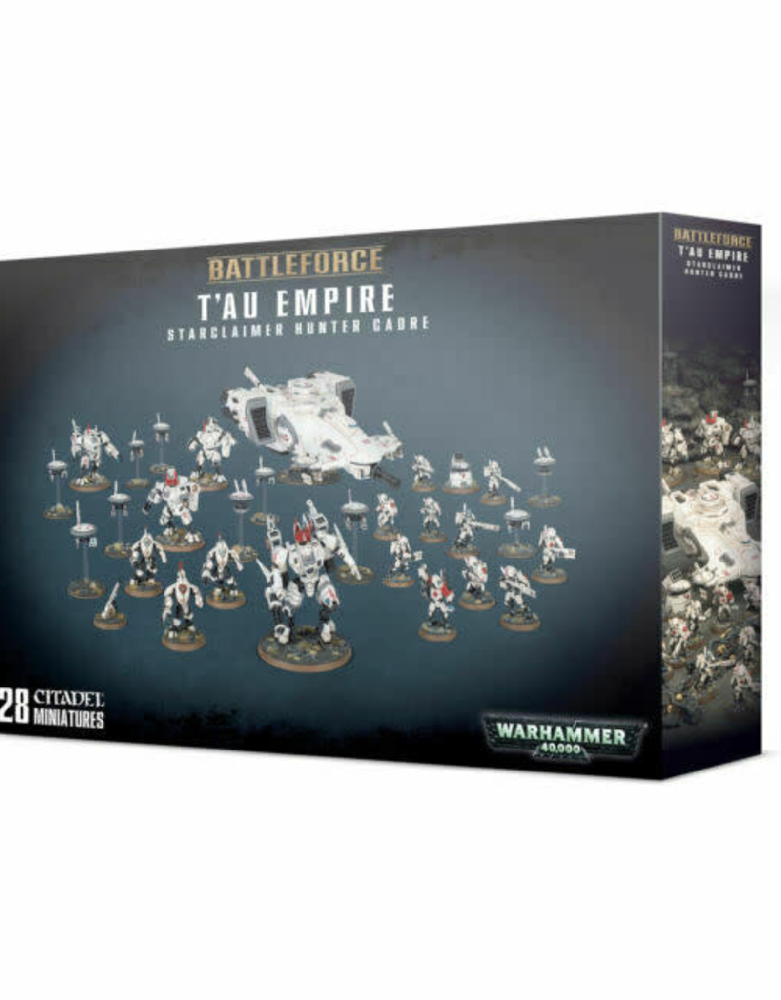 Games Workshop Box: Tau Empire Starclaimer Hunter Cadre Battleforce