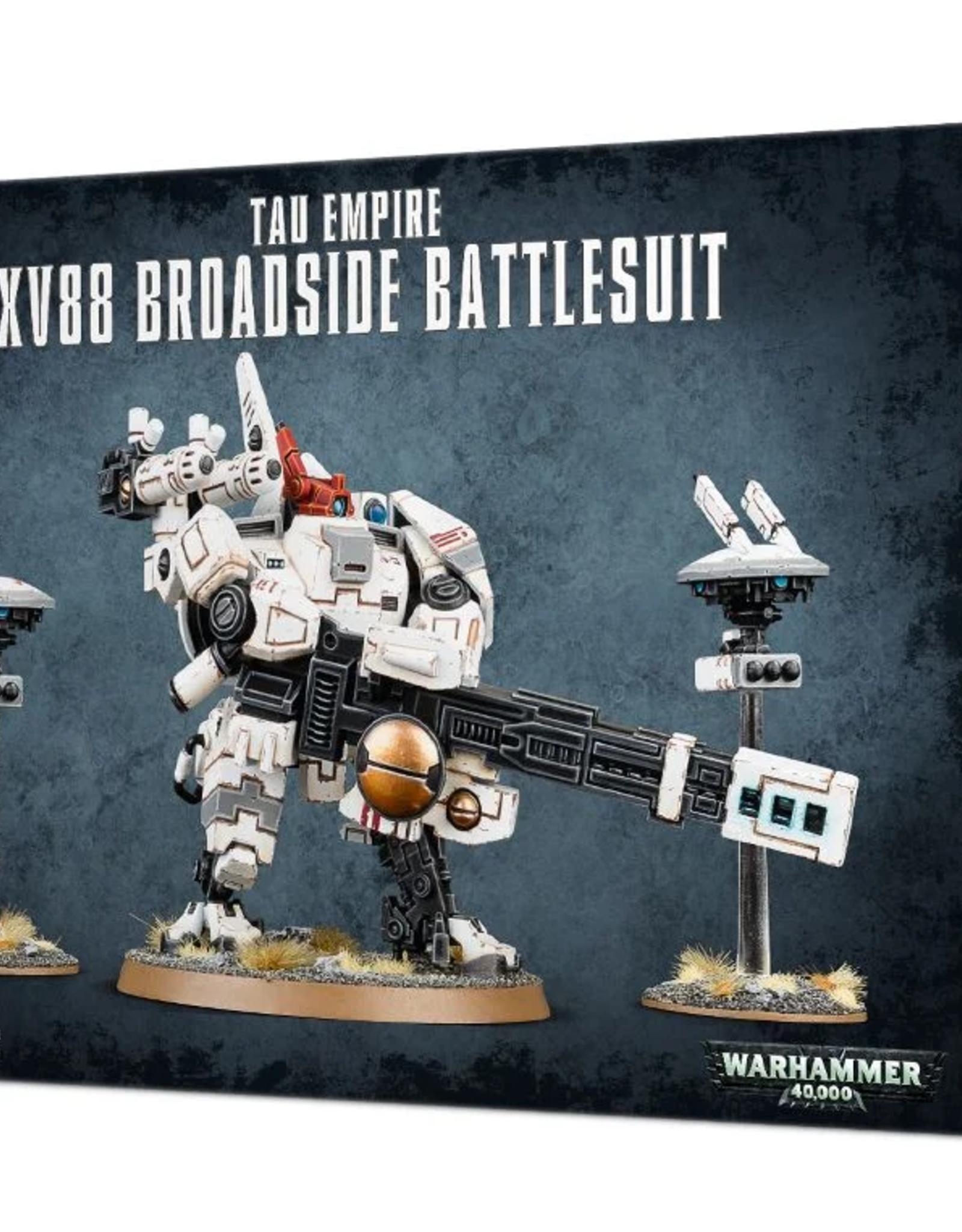 Games Workshop Tau: XV88 Broadside Battlesuit