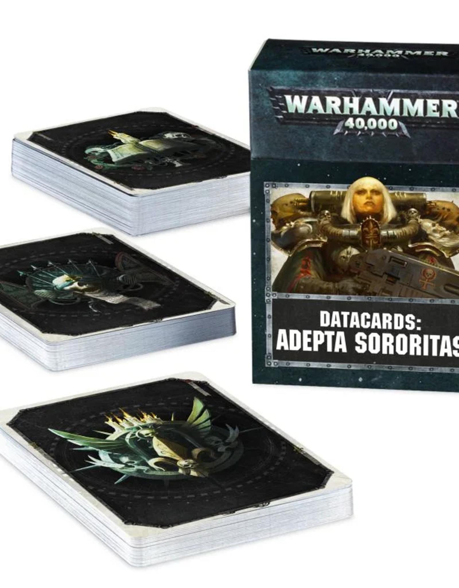Games Workshop Datacards: Adepta Sororitas