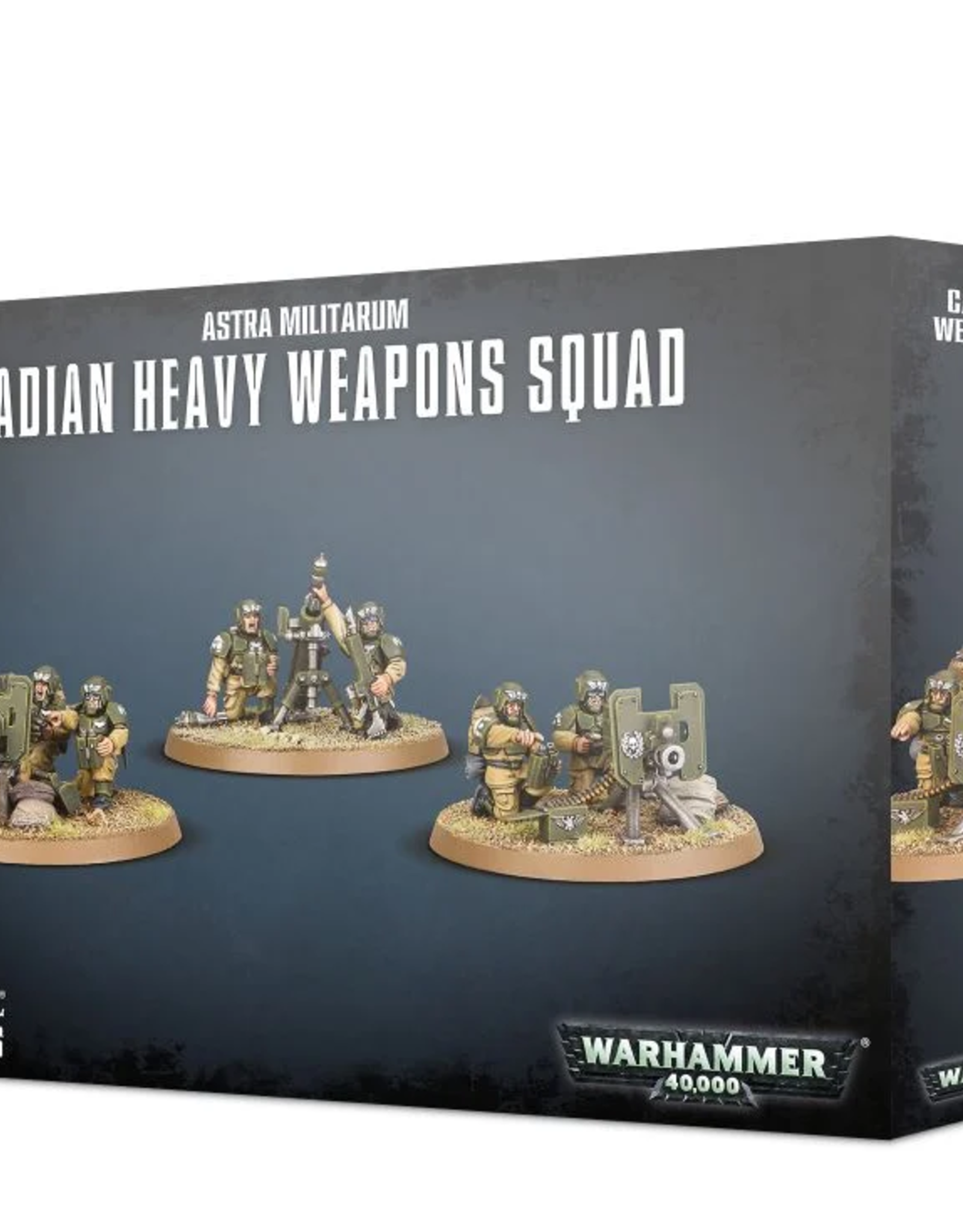 Games Workshop Astra Militarum: Cadian Heavy Weapons Squad