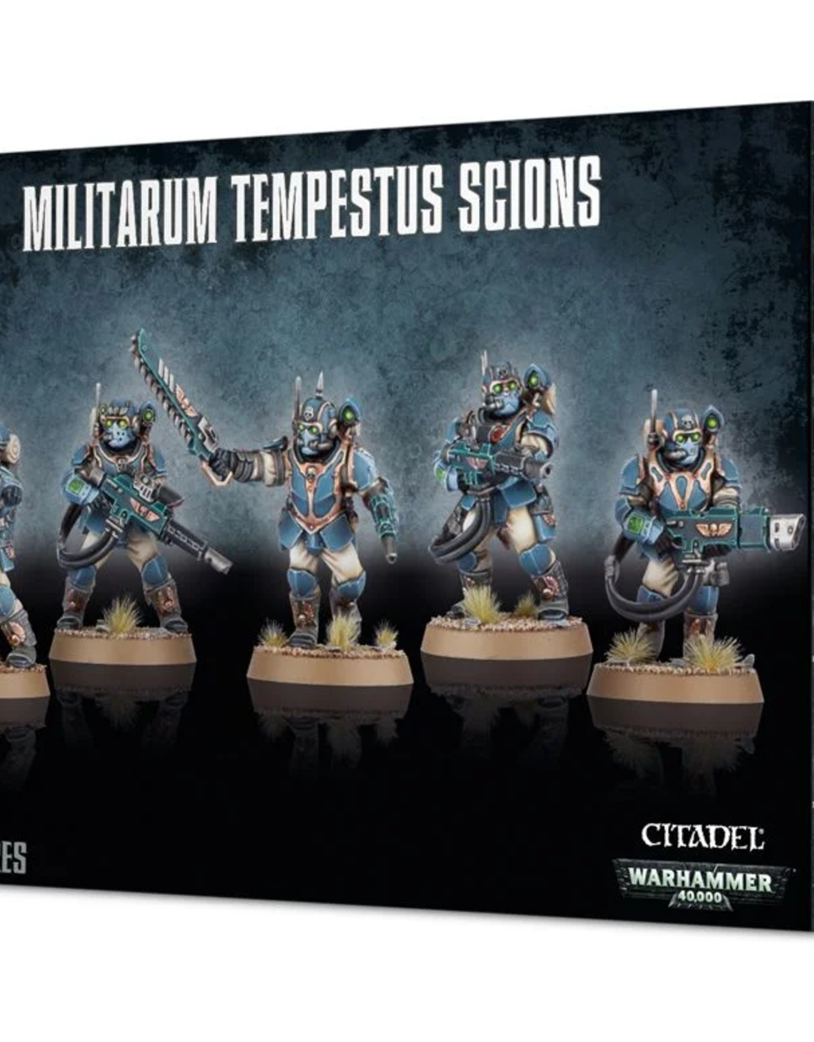Games Workshop Astra Militarum: Tempestus Scions
