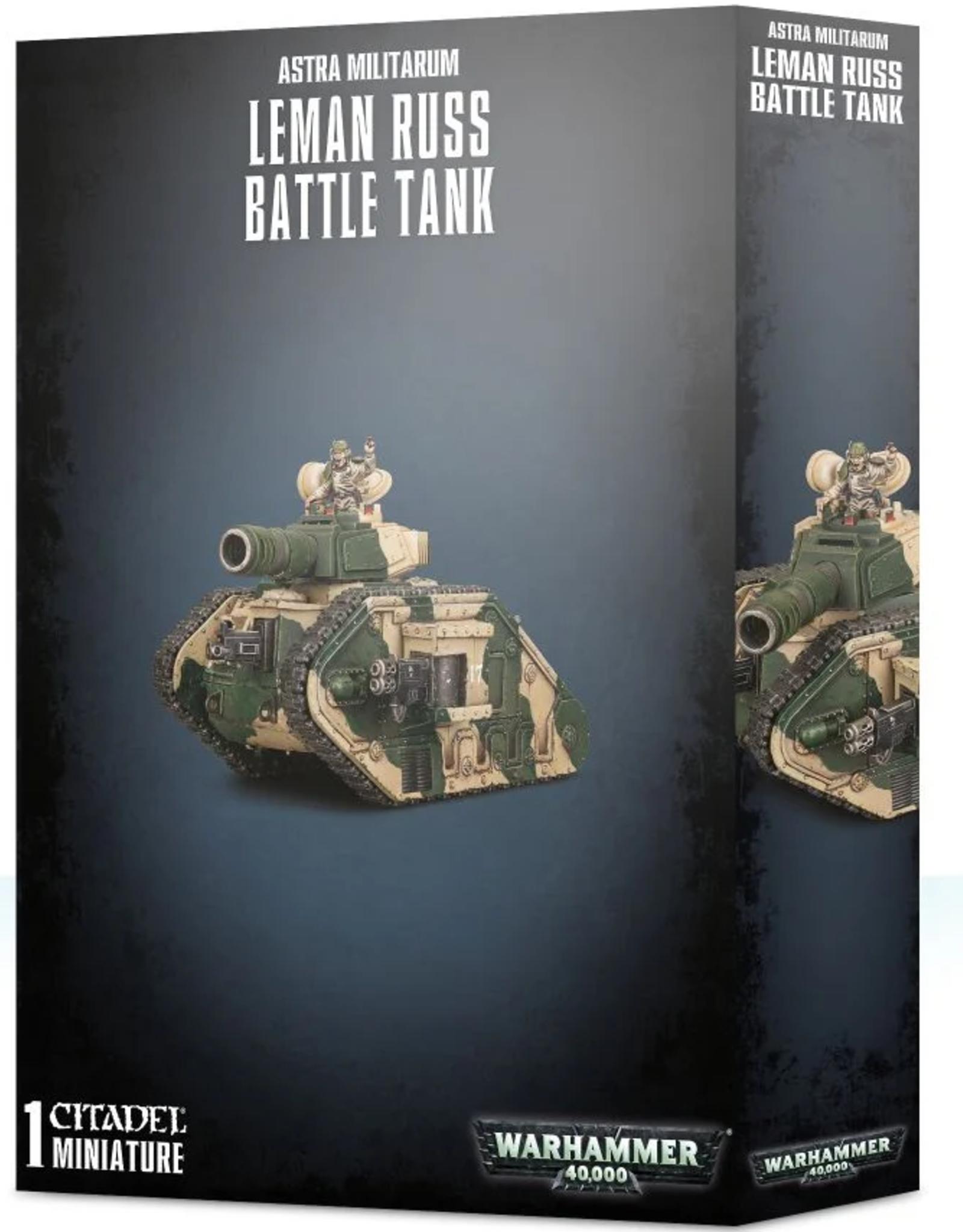 Games Workshop Astra Militarum: Leman Russ Battle Tank
