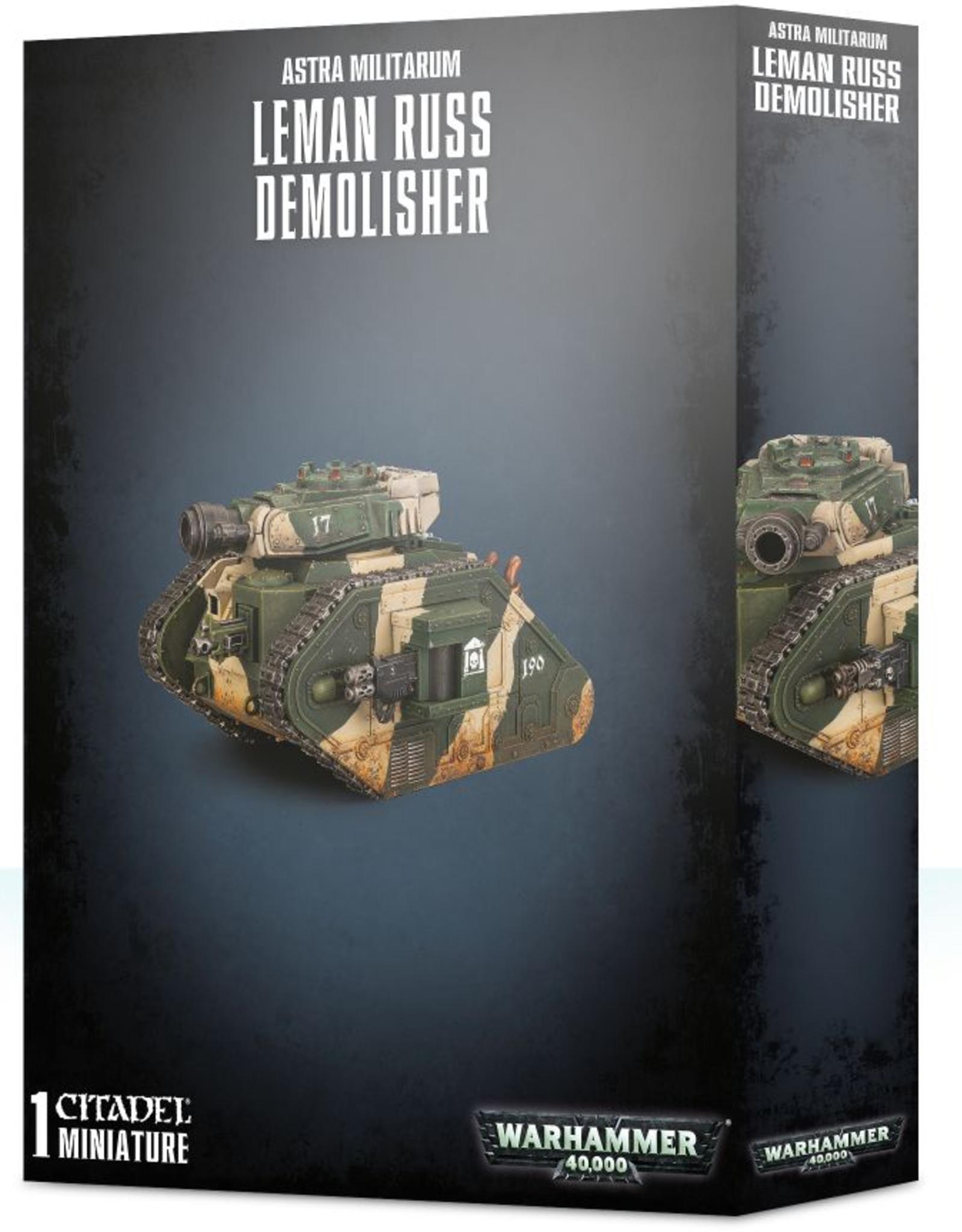 Games Workshop Astra Militarum: Leman Russ Demolisher