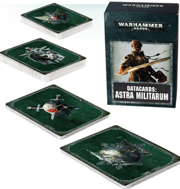 Games Workshop Datacards: Astra Militarum 8E