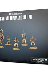 Games Workshop Astra Militarum: Cadian Command Squad