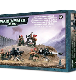 Games Workshop Astra Militarum: Catachan Heavy Weapon Squad