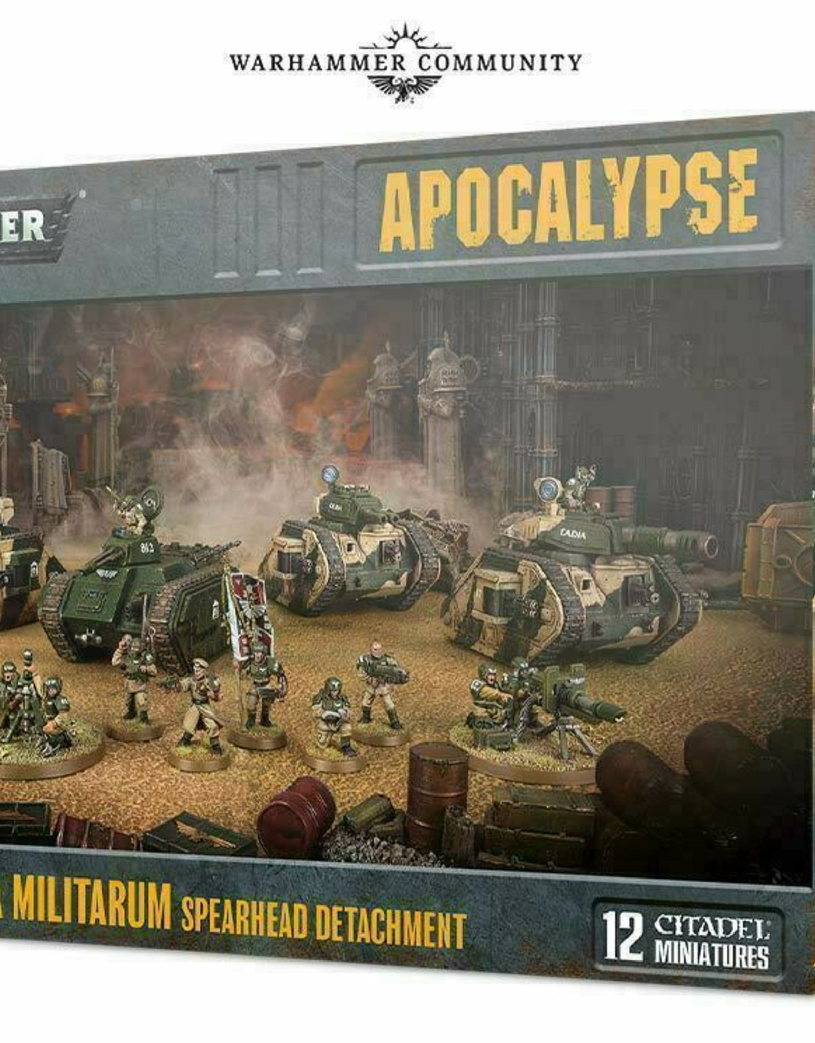 Games Workshop Astra Militarum: Spearhead Detatchment