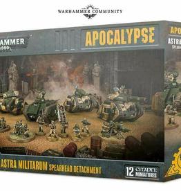 Games Workshop Astra Militarum: Spearhead Detatchment