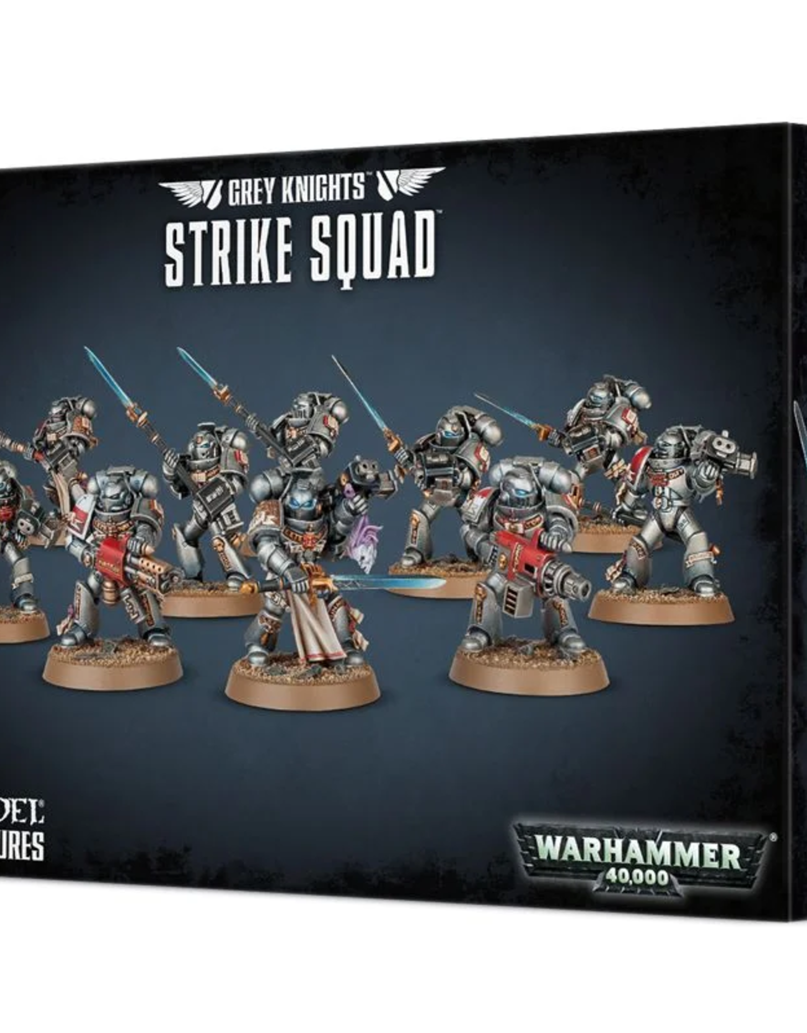 Games Workshop SM: Grey Knights Strike Squad