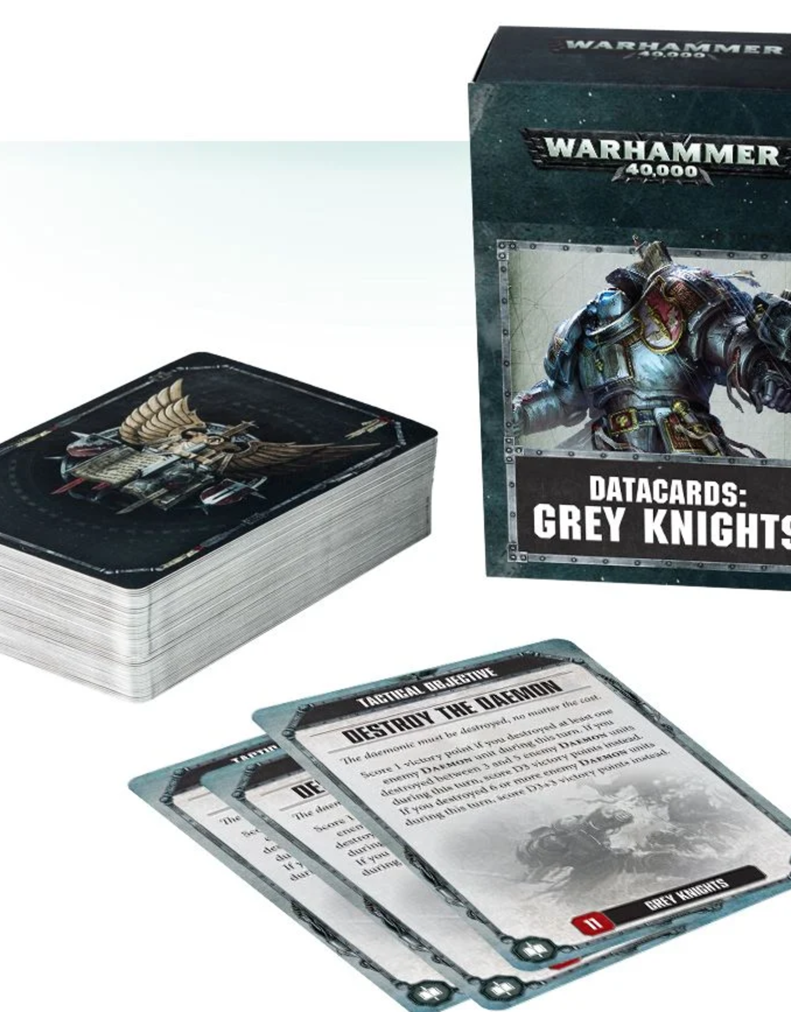 Games Workshop Datacards: Grey Knights 8E