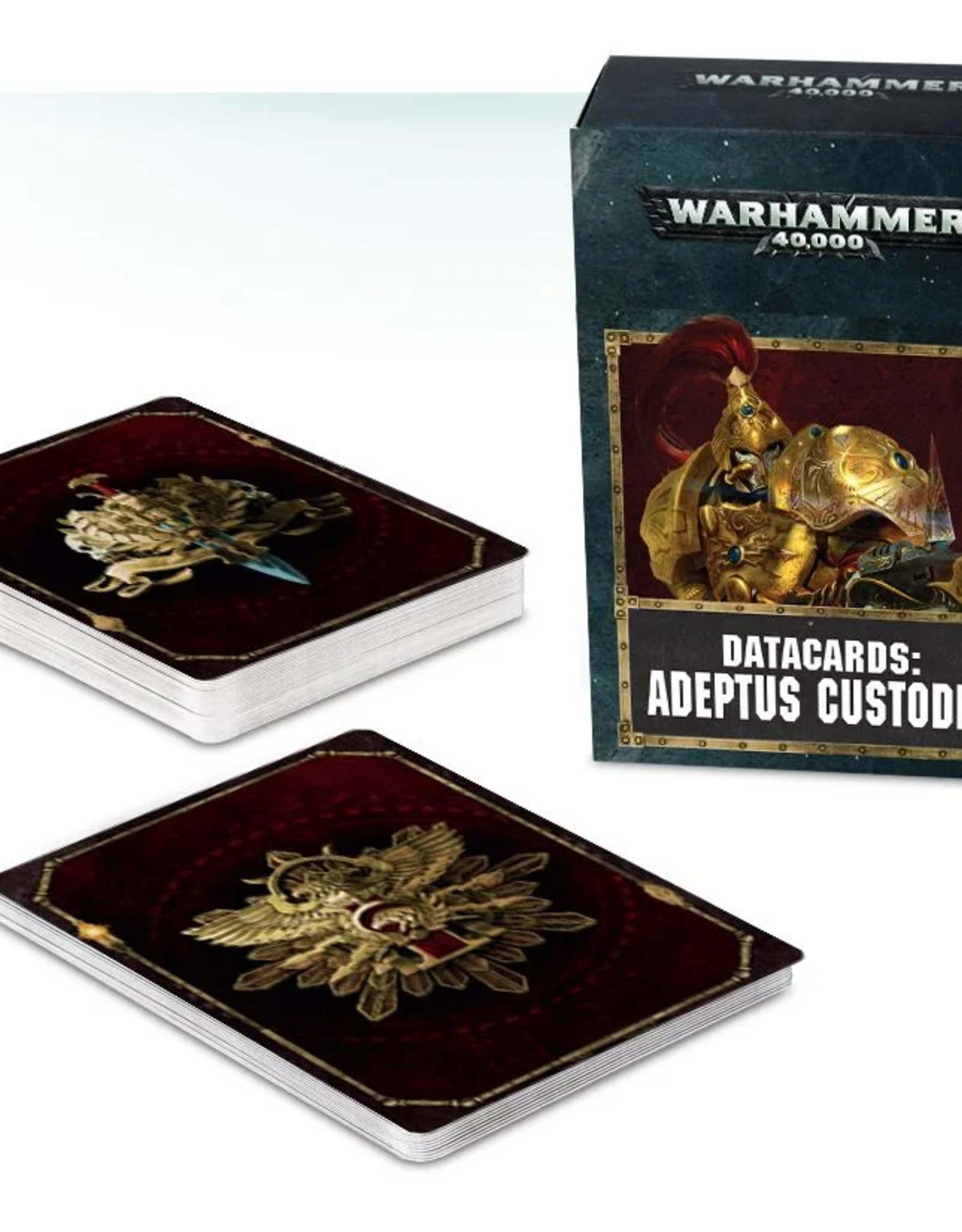 Games Workshop Datacards: Adeptus Custodes 8E