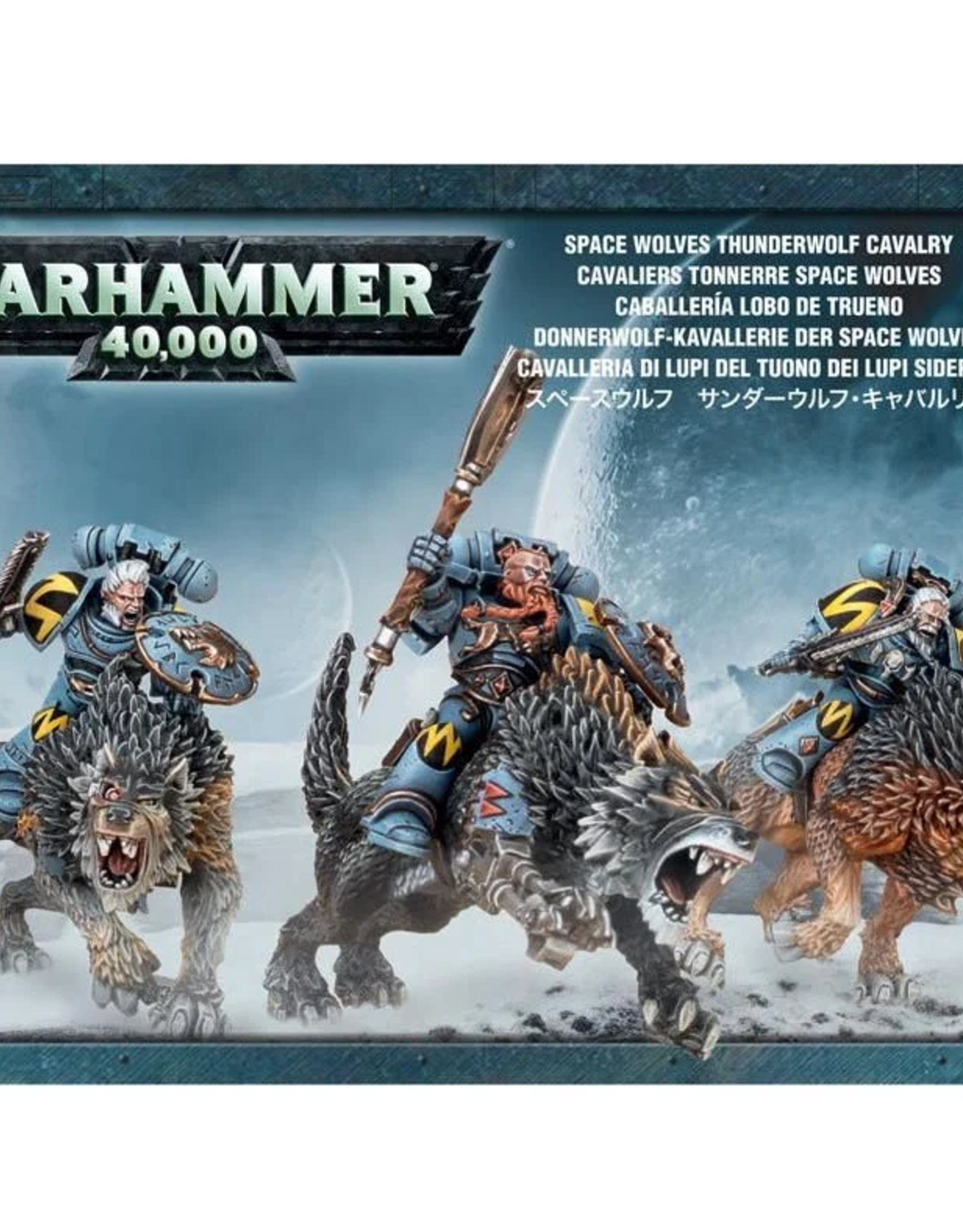 Games Workshop SM: Space Wolves Thunderwolf Cavalry