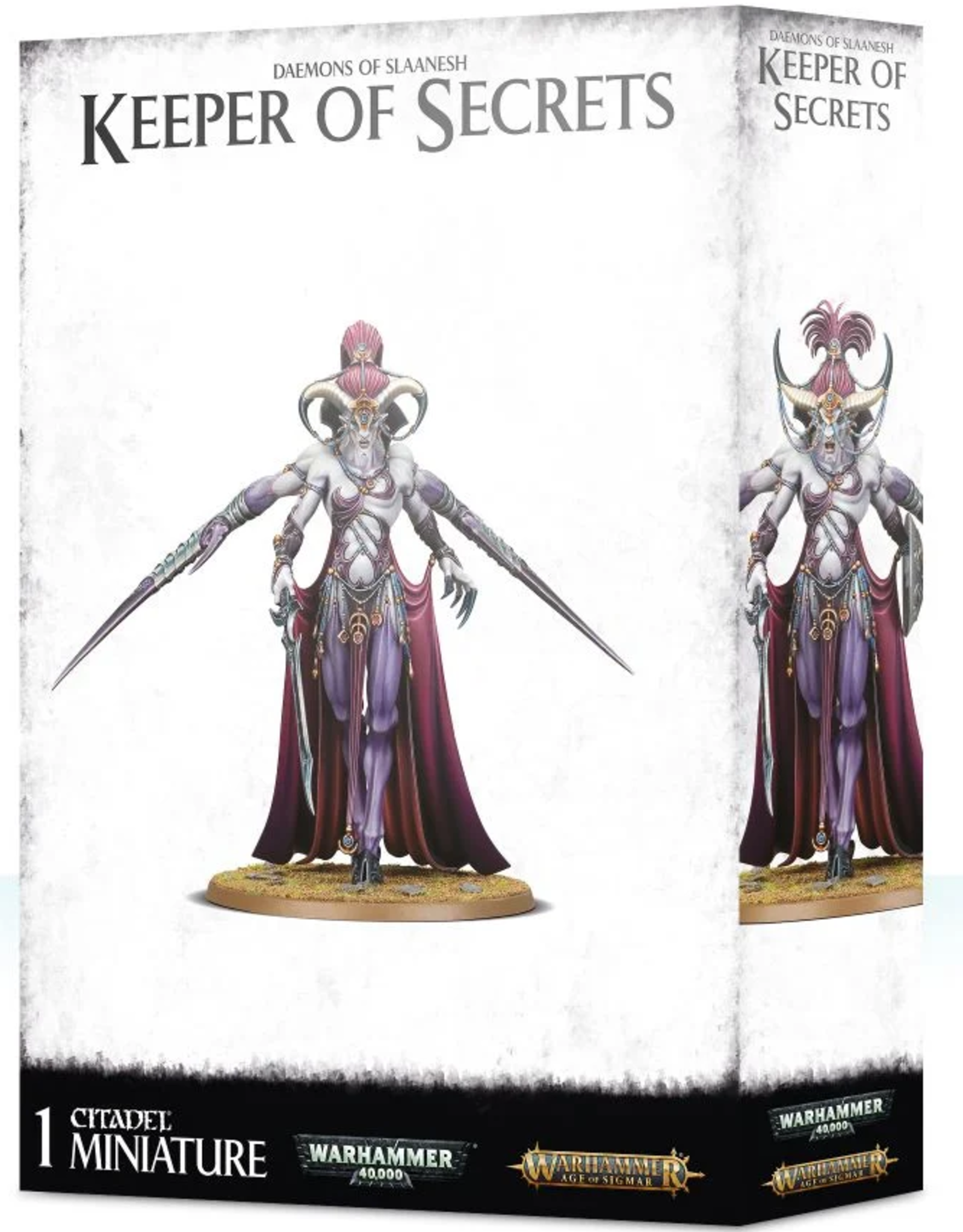 Games Workshop Slaanesh: Keeper of Secrets