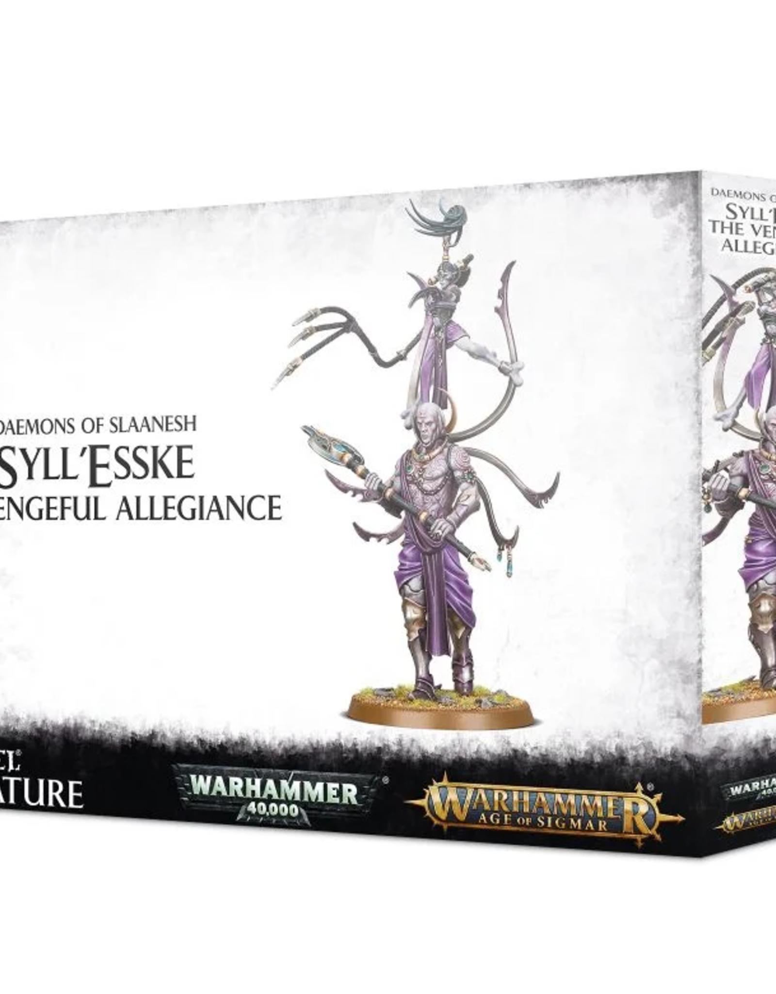 Games Workshop Slaanesh: Syll'Esske the Vengeful Allegiance