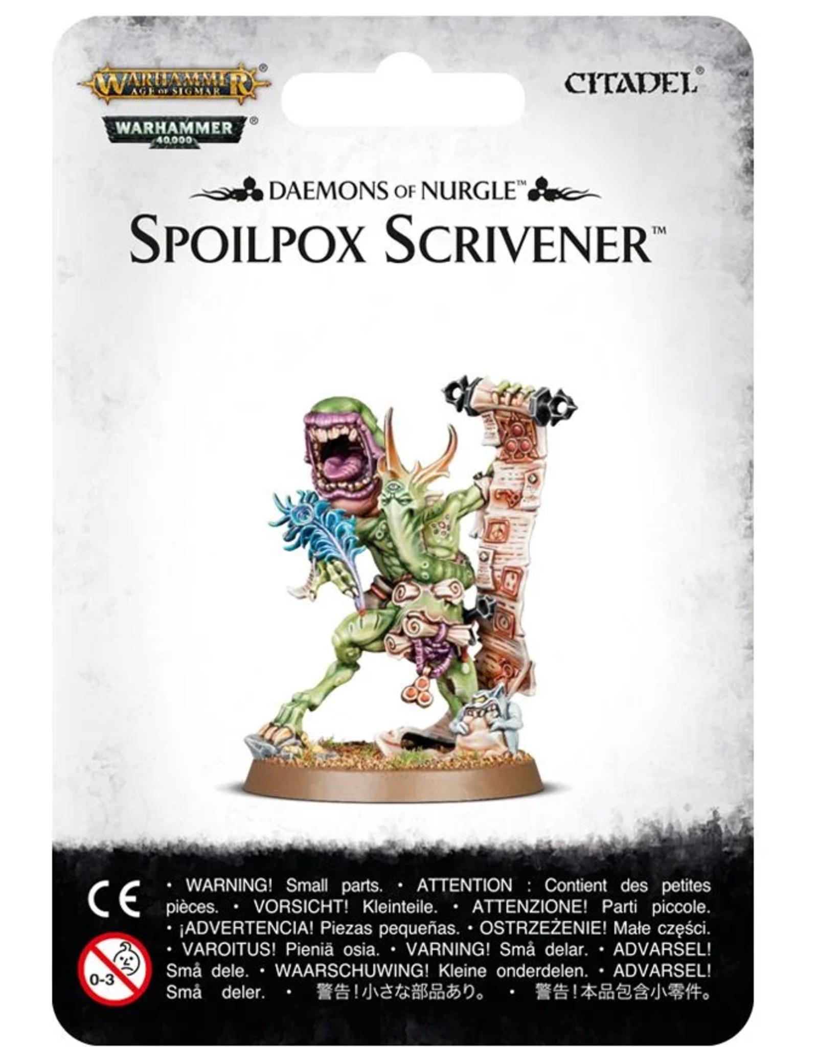 Games Workshop Nurgle: Spoilpox Scrivener