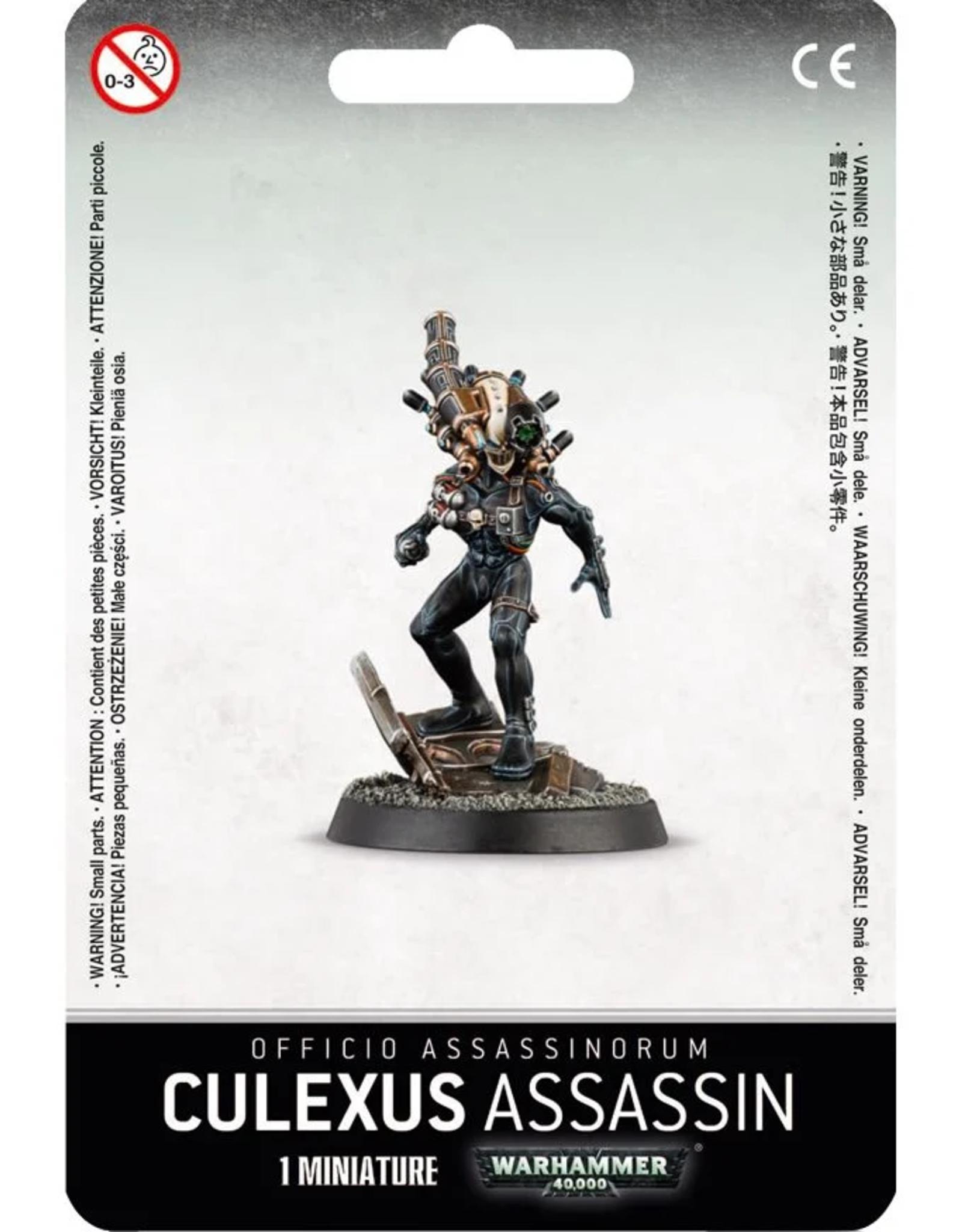 Games Workshop Officio Assassinorum: Culexus Assassin