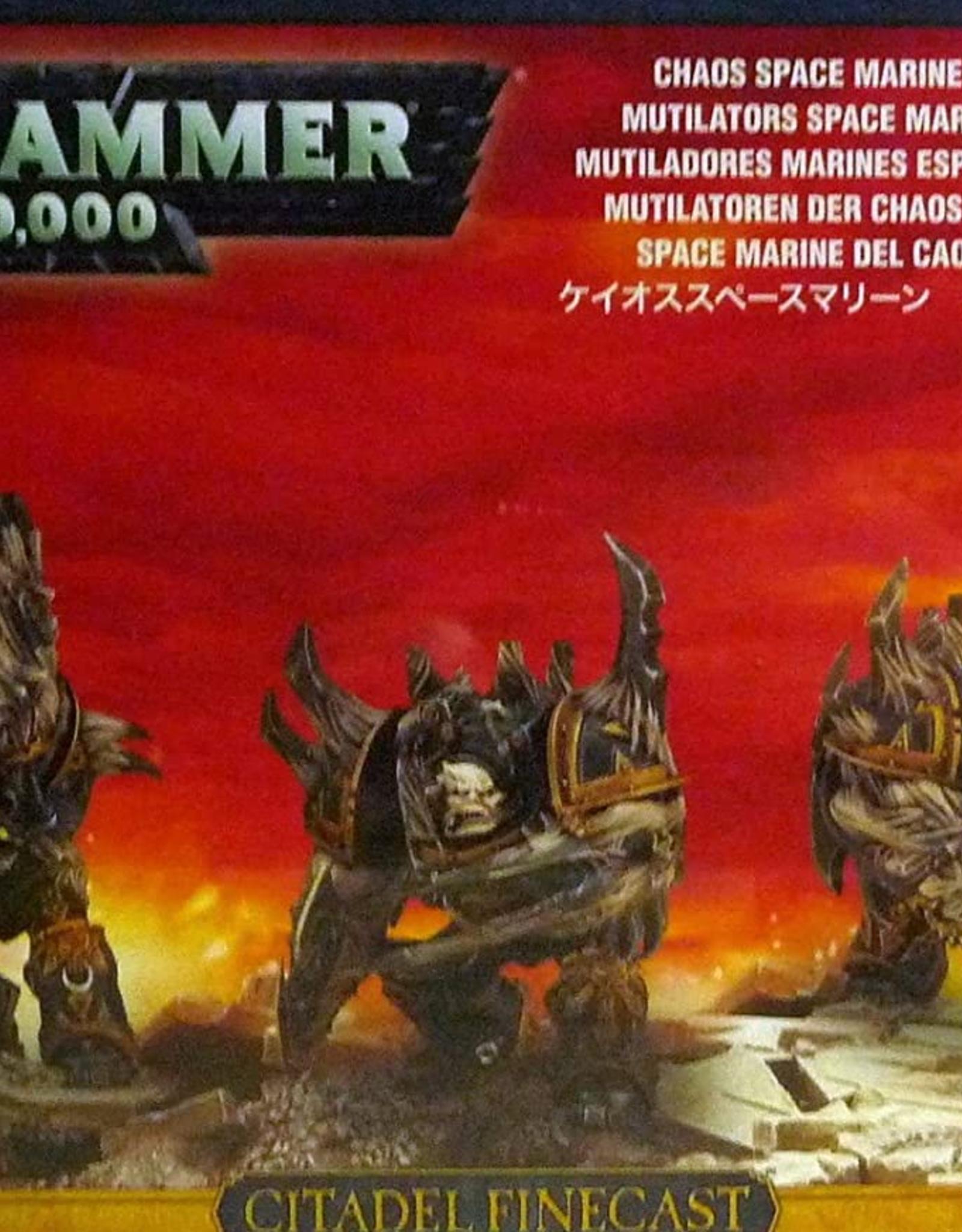 Games Workshop Chaos Space Marines: Mutilators