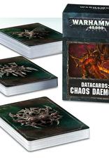 Games Workshop Datacards: Chaos Daemons 8E