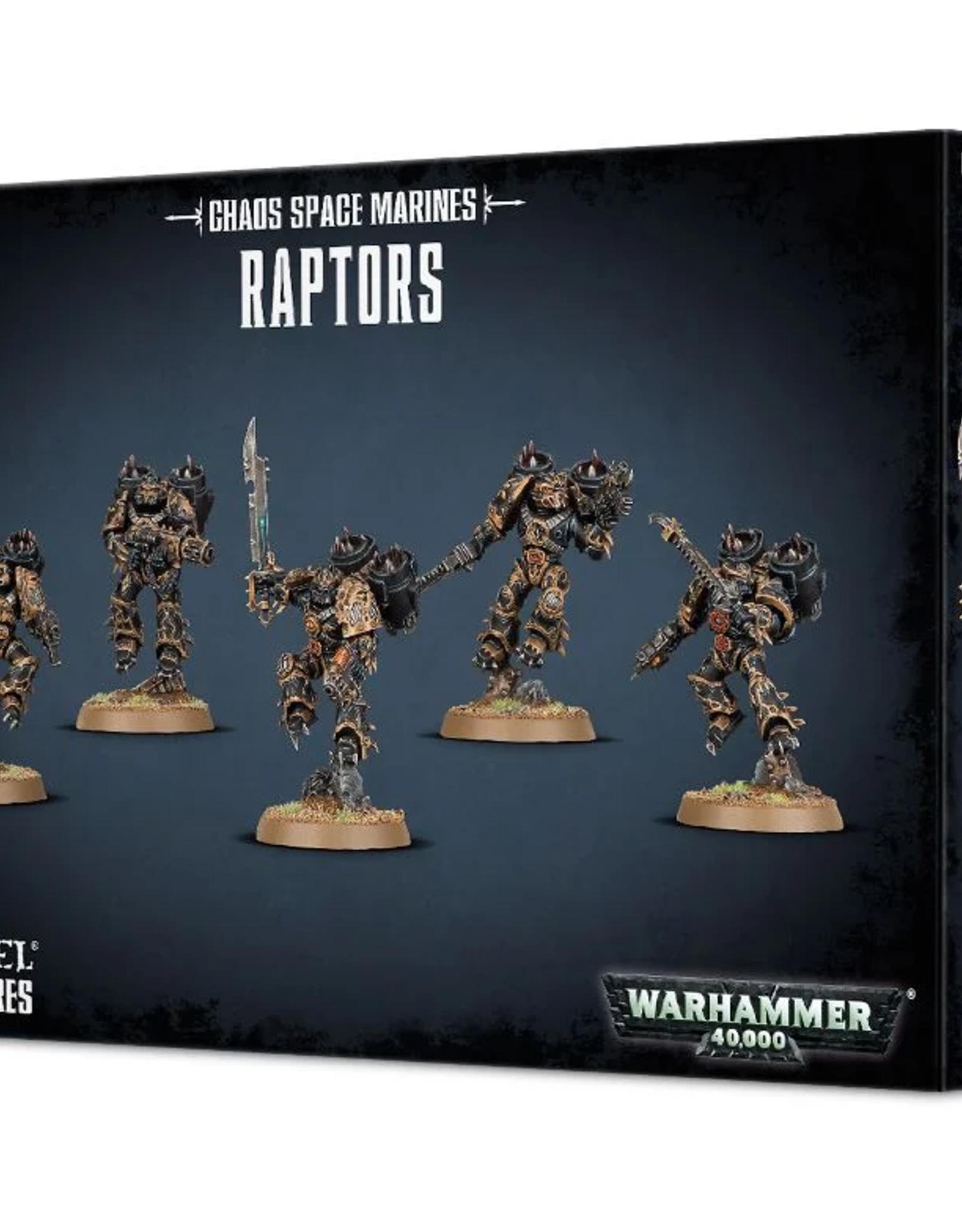 Games Workshop Chaos Space Marines: Raptors