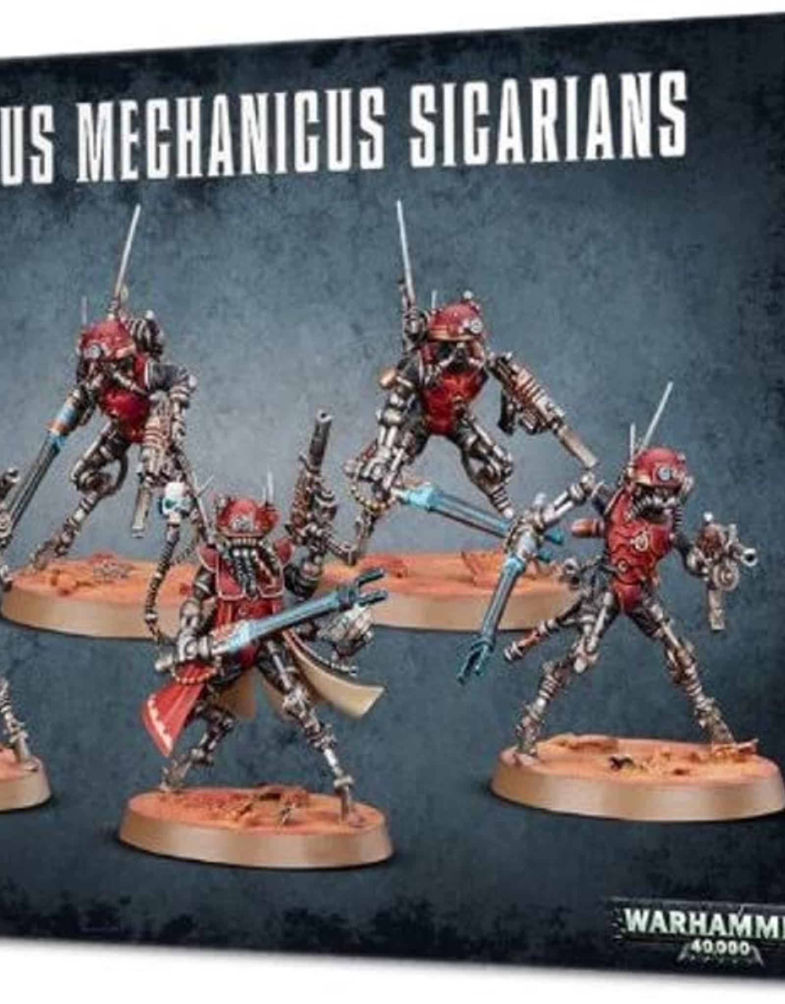 Games Workshop Adeptus Mechanicus: Sicarians