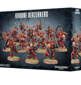 Games Workshop Chaos Space Marines: Khorne Berzerkers