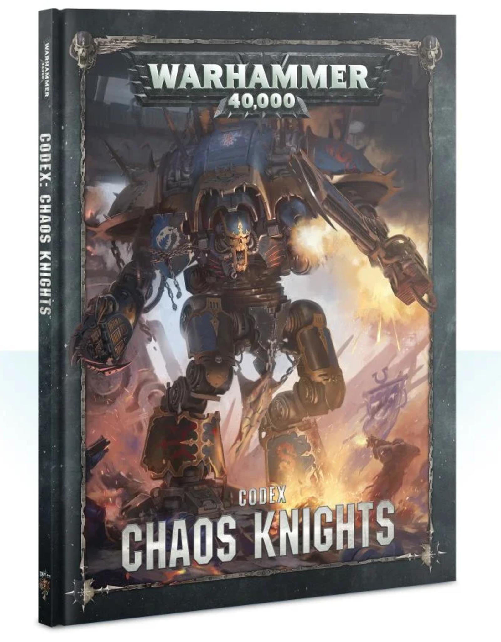 Games Workshop Codex: Chaos Knights 8E