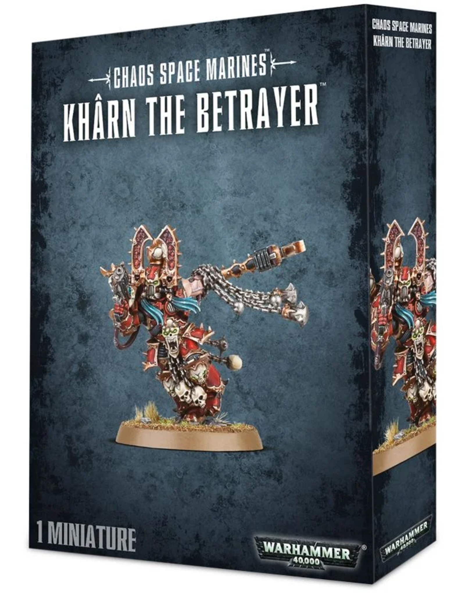 Games Workshop Chaos Space Marines:  Kharn the Betrayer
