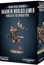 Games Workshop Chaos Space Marines: Haarken Worldclaimer