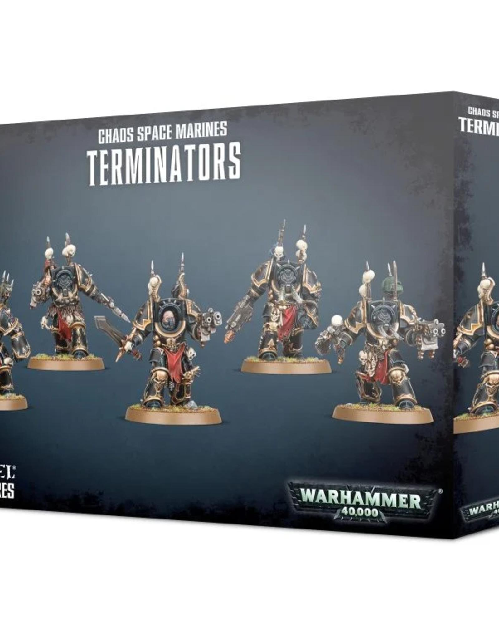 Games Workshop Chaos Space Marines: Terminators