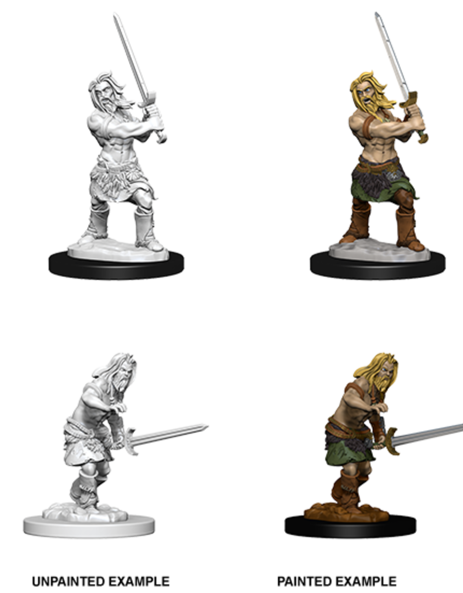 WizKids Pathfinder Battles Deep Cuts: Male Human Barbarian