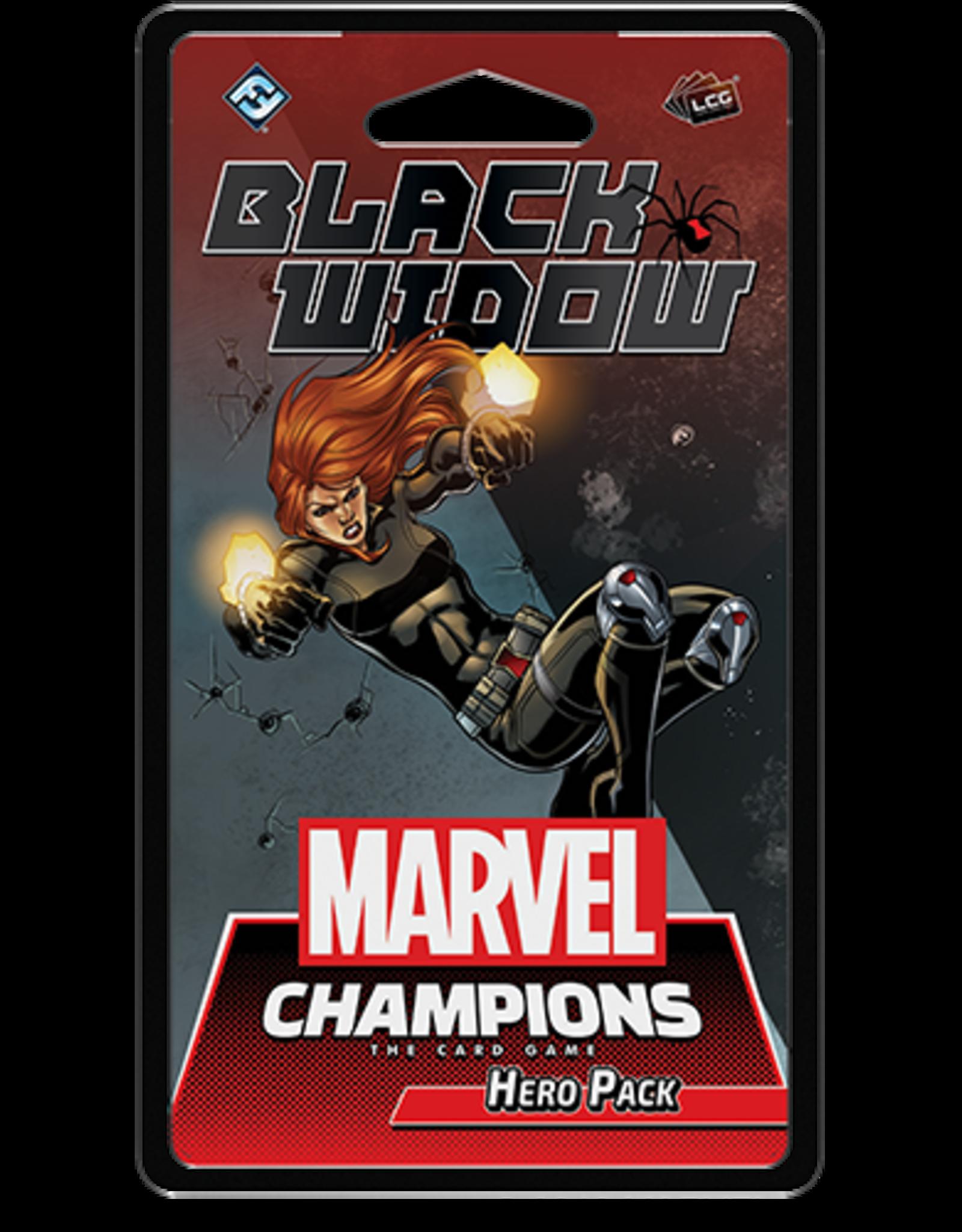 Fantasy Flight Marvel Champions Black Widow Hero Pack
