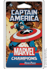 Fantasy Flight Marvel Champions Captain America Hero Pack