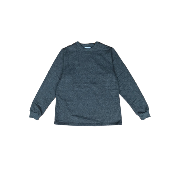 Crew Neck Sweatshirt, Charcoal
