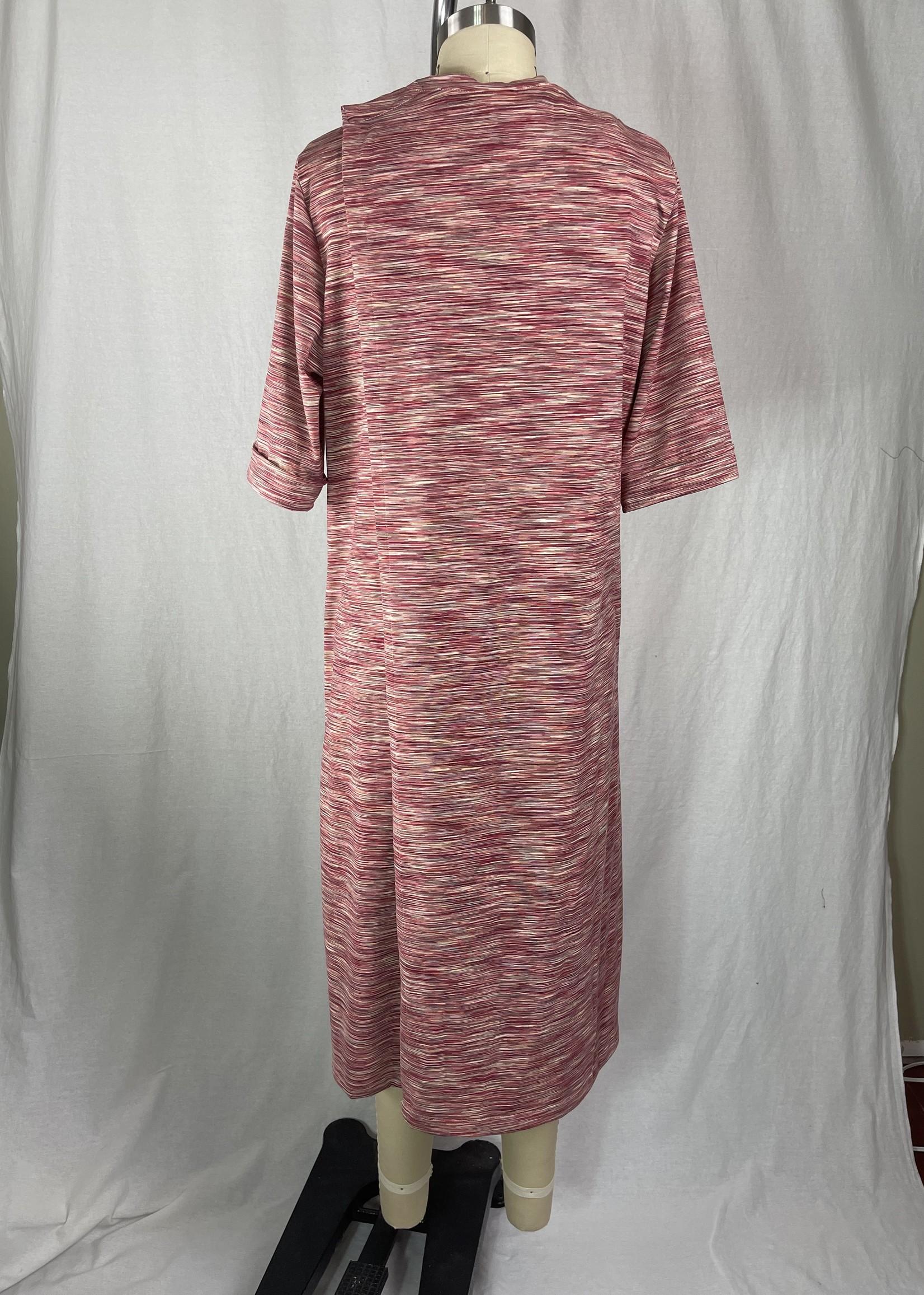 Dress, multi-red  f/w21