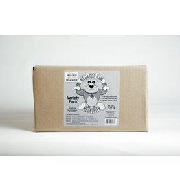 MEGA DOG RAW VARIETY PACK 16LB TUBS (4 x 4LB)
