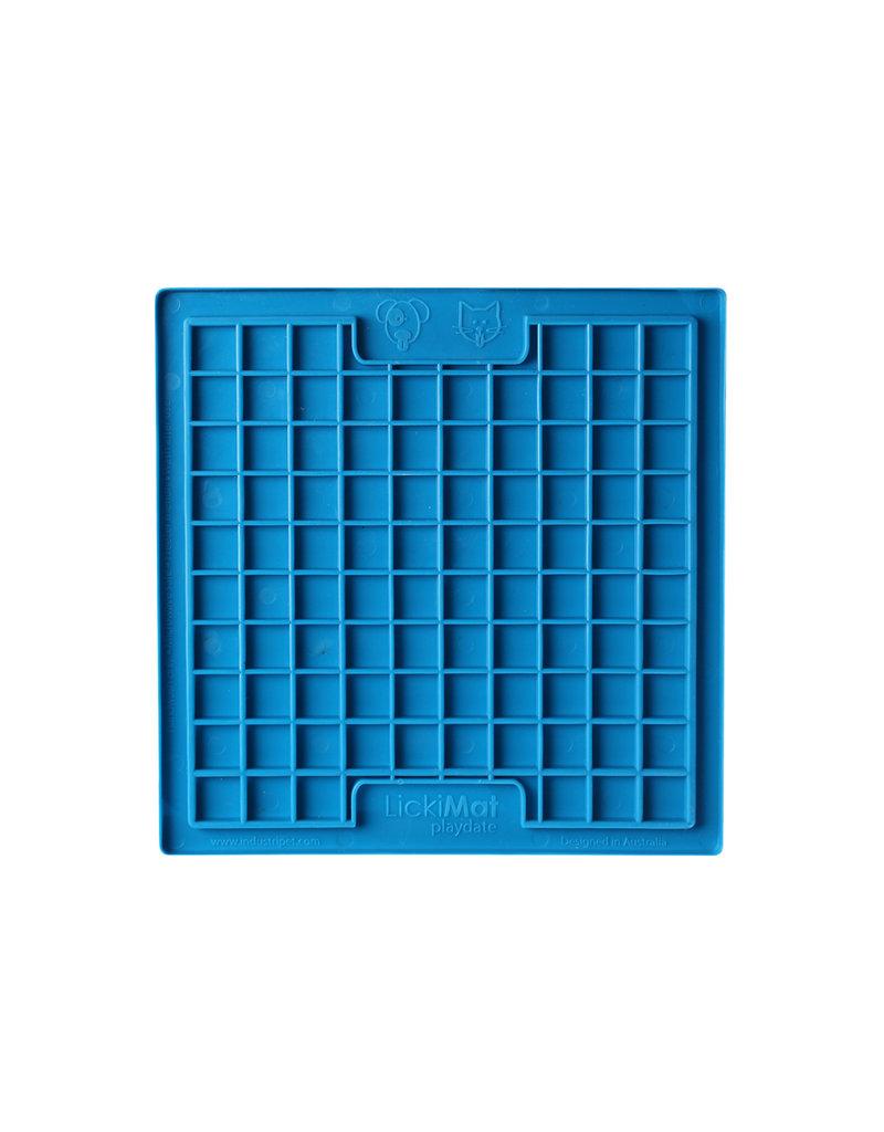 LICKIMAT PLAYDATE BLUE SMALL/MEDIUM