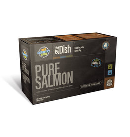 BIG COUNTRY RAW PURE SALMON 4LB CARTON (4 x 1LB)