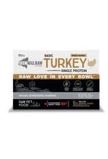 IRON WILL RAW BASIC TURKEY 6LB BOX (6 x 1LB)