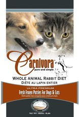 CARNIVORA RABBIT DIET 4LB (8 x 8OZ)