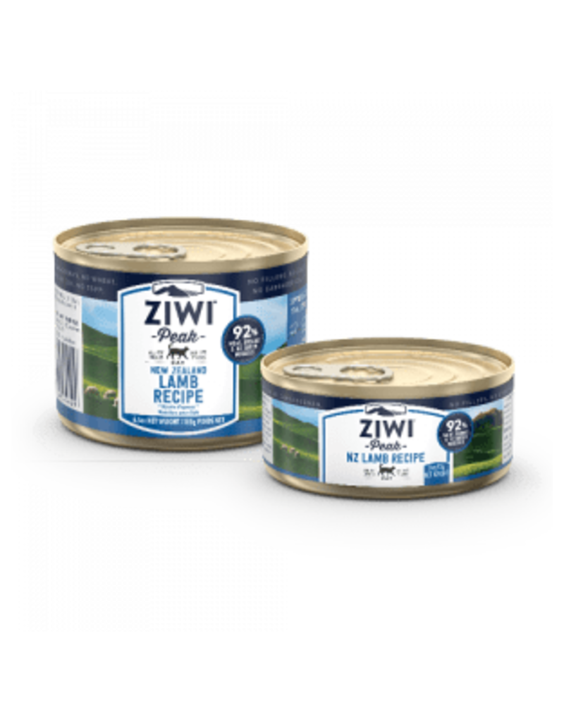 ZIWI PEAK CANNED LAMB CAT