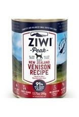 ZIWI PEAK CANNED VENISON DOG 13.75OZ
