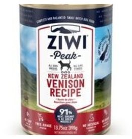 ZIWI PEAK CANNED VENISON DOG 13.75OZ