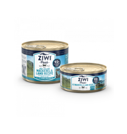 ZIWI PEAK CANNED MACKEREL & LAMB CAT
