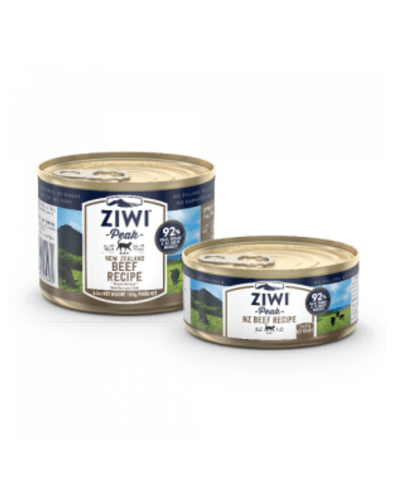 ZIWI PEAK CANNED BEEF CAT
